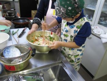 栖本分会おやこ料理教室画像7